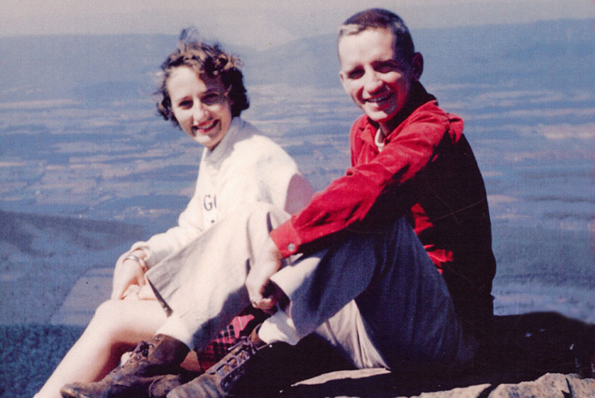 portrait of young Ross and Margot Perot