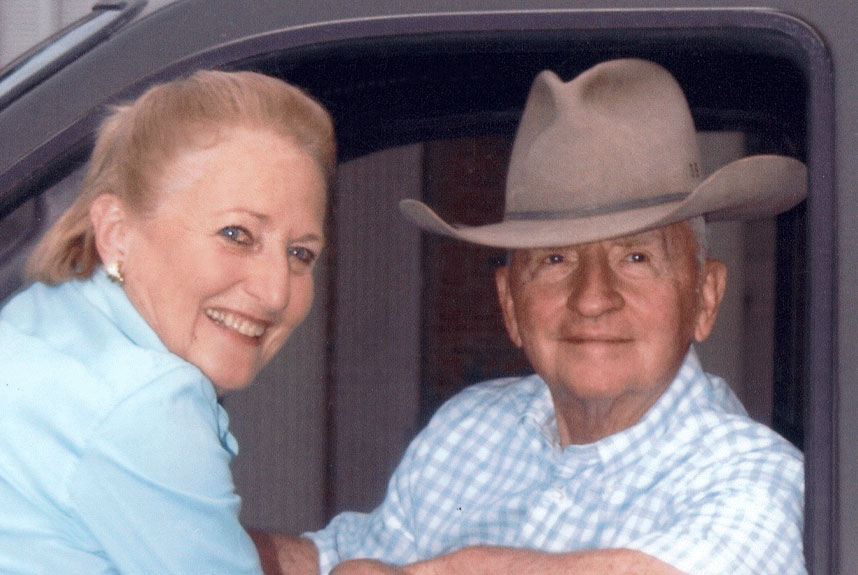 current portrait of Ross and Margot Perot