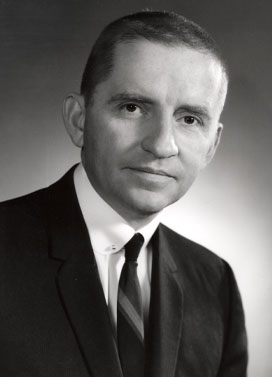 portrait of Ross Perot while working at IBM