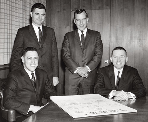 Ross Perot and members of Electronic Data Systems Corp.