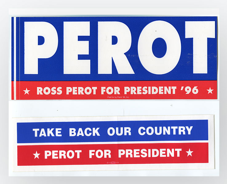 Perot Campaign 1996