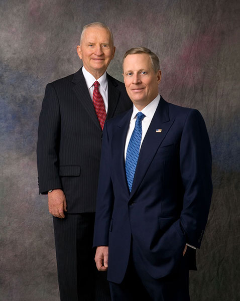 Ross Perot and Ross Perot Jr.
